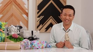 Youtube thumbnail for How to make your own gift wrap