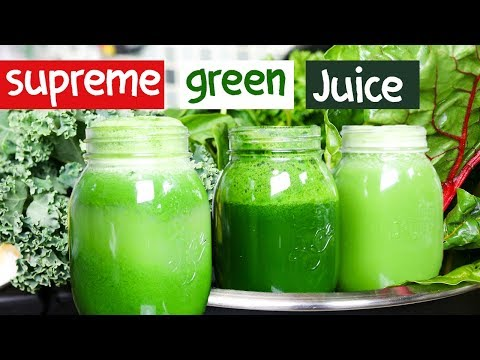 ULTIMATE DETOX GREEN JUICE for WEIGHT LOSS & SKIN GLOW !