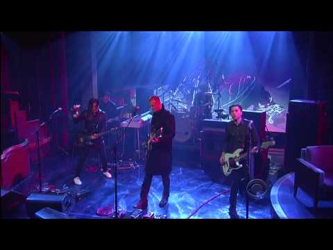 "Queens of the Stone Age - ""My God Is The Sun"" 6/5 Letterman (TheAudioPerv.com)"