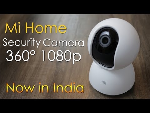 Mi Home Security Camera 360 1080p unboxing, review, now in India, cheapest security camera Rs. 2699