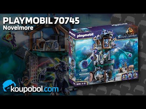 Vidéo PLAYMOBIL Novelmore 70745 : Violet Vale - Tour des magiciens