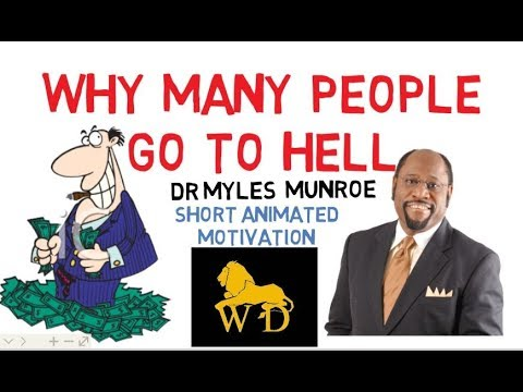 ARE YOU SERVING GOD OR MONEY? by Dr Myles Munroe (Must Watch NOW!!!)