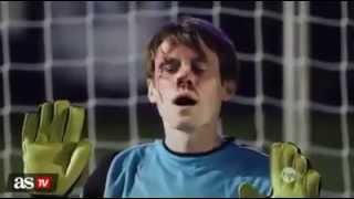los penales mas chistoso y graciosos del futbol (football)