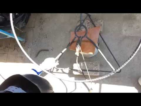 Como hacer una silla acapulco GRANDE (ESTRUCTURA)