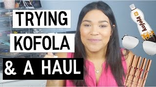 TRYING KOFOLA & a HAUL 😊❤️