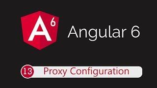 Angular 6 Tutorial 13: Configure Proxy for API calls