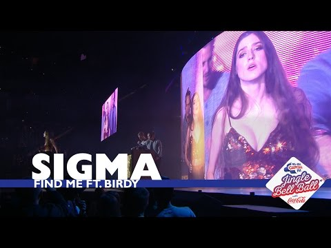 Sigma ft. Birdy - 'Find Me' (Live At Capital's Jingle Bell Ball 2016)
