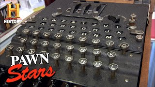 Pawn Stars: SUPER RARE WWII Code Breaking Machine (Season 8) | History