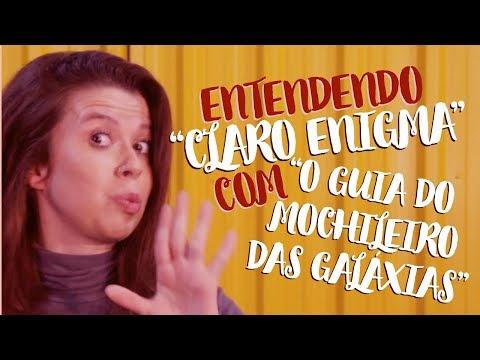 """COMO ENTENDER DRUMMOND COM """"O GUIA DO MOCHILEIRO DAS GALÁXIAS"""""""