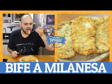 COMO FAZER BIFE À MILANESA