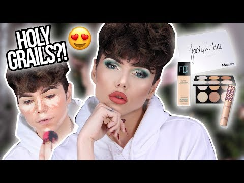 FULL FACE OF HOLY GRAILS?! + Holiday Glam Makeup Tutorial (Xmas Week Day 4) | Thomas Halbert