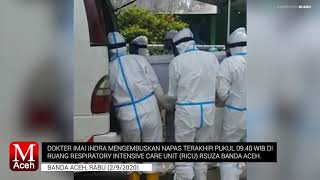 dr. Imai Indra Meninggal Terpapar Covid-19, Para Medis Aceh Berduka