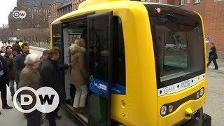 Gambar cover Almanya'da sürücüsüz araçlar yolcu taşımaya hazır - DW Türkçe