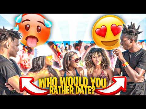 Who Would You Rather Date?? Ft. Miamithekid   PUBLIC INTERVIEW