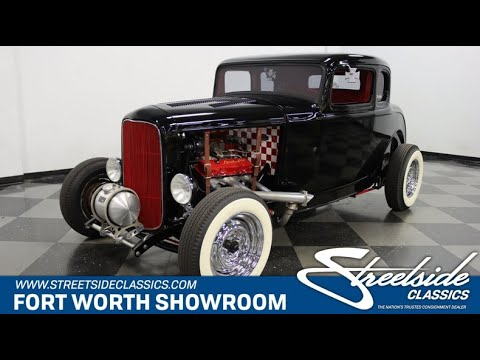 1932 Ford 5-Window Coupe (CC-1381837) for sale in Ft Worth, Texas