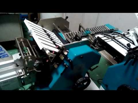 Superfold Leaflet Folding Machine With Inspection System