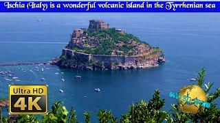 Ischia (Italy) is a wonderful volcanic island in the Tyrrhenian sea – 4K