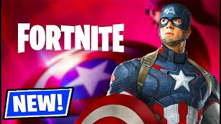 CAPTAIN AMERICA IN FORTNITE! (NEW UPDATE)