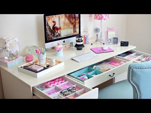 Desk Organization Ideas ~ How To Organize Your Desk