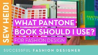 What Pantone Book to Use for Fashion Designers (TCX vs TPX?!)