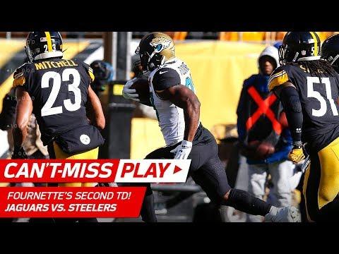 Myles Jack's Juggling INT Sets Up Leonard Fournette's 2nd TD! | Can't-Miss Play | NFL Divisional HLs