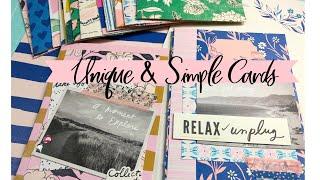 Unique & Simple Cards 🦋 | Mass Produce | Use Your Paper Series Idea #10