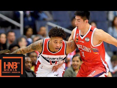 Washington Wizards vs Guangzhou Long-Lions Full Game Highlights | 10.12.2018, NBA Preseason