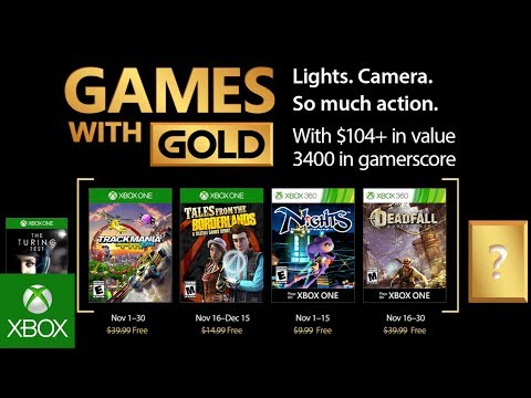 Games with Gold November 2017 CONFIRMED: Free Xbox One and