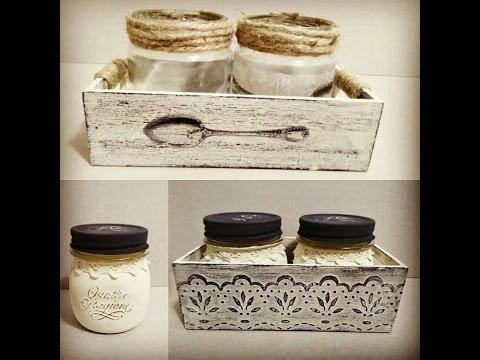 Set 3 cajas de madera decoración