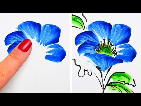 simple drawing and painting techniques by 5 minutes craft teens