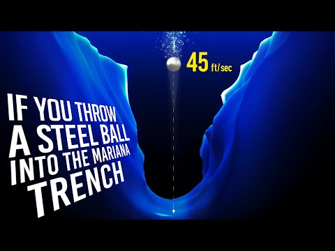 What If You Throw a Steel Ball into the Mariana Trench