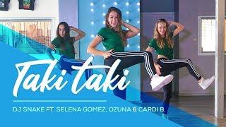 Taki Taki - Dj Snake Ft. Selena Gomez, Ozuna, Cardi B - Easy Dance  - Choreography #takitaki