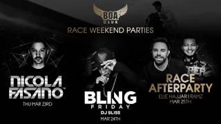 RACE WEEKEND PARTIES