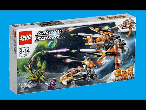 Vidéo LEGO Galaxy Squad 70705 : Le vaisseau insecticide