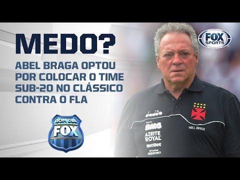 Abel Braga 'temendo' o Flamengo ?