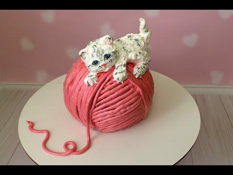 Идея торта в форме кота