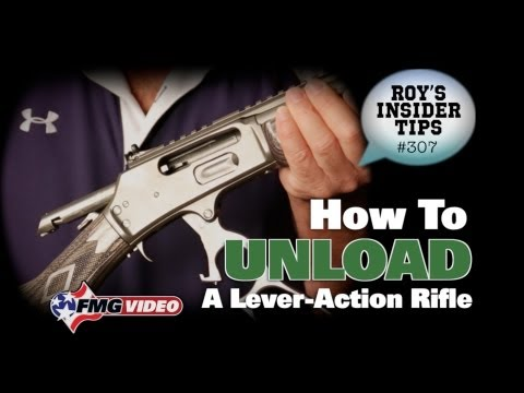 How To Unload A Lever-Action Rifle