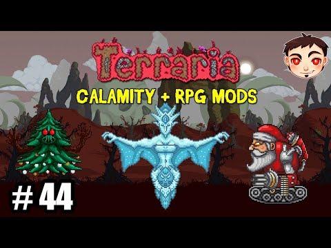 ¡LUNA DE ESCARCHA Y SUS OBJETOS! - Terraria [Calamity + RPG Mods] EP. 44