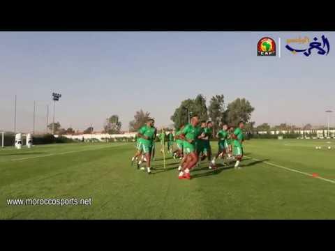 العرب اليوم - شاهد: المنتخب المغربي مكتمل الصفوف قبل مواجهة ناميبيا