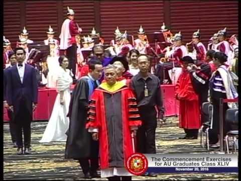 AU Graduates Class XLIV