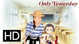 Only Yesterday  Official English Dub Trailler
