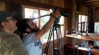 Tournage du film présentation de la réserve / Shooting in the Reserve / Rodaje en la Reserva