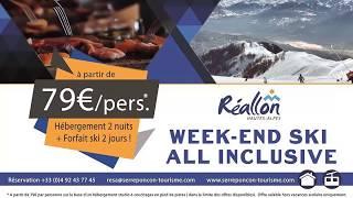 Campagne d'affichage Réallon.  .