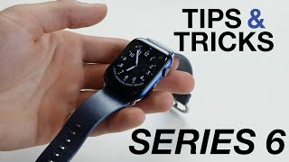 How to use Apple Watch Series 6 + Tips/Tricks!