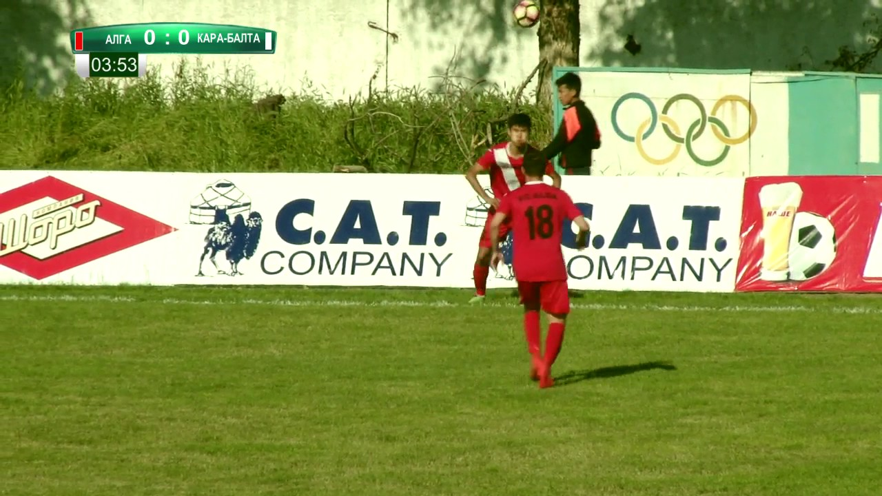 Топ-Лига-2017. Матч#20 Алга – Кара-Балта 1:2