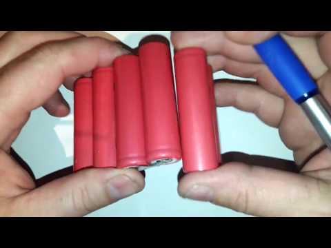 3 Zellen Li-Ion Akku pack(3S) mit Tiefentladeschutz bauen