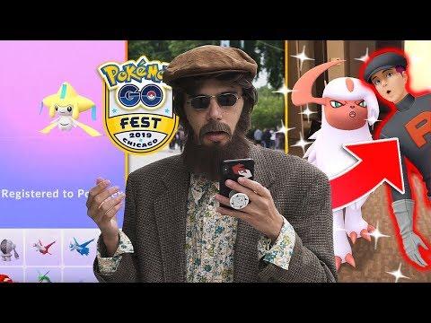 JIRACHI RESEARCH & TEAM ROCKET IN POKÉMON GO! (GO Fest 2019)