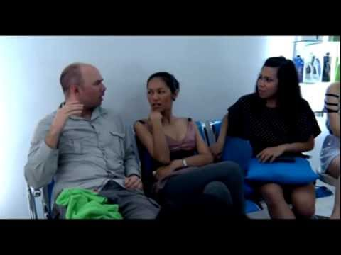 An Idiot Abroad: Karl meets some ladyboys in Thailand