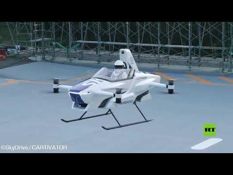 العرب اليوم - شاهد: تحليق أول سيارة طائرة في العالم بنجاح