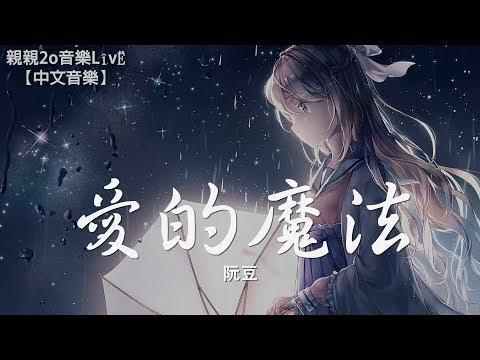 阮豆 - 愛的魔法 (Cover 金沙)【動態歌詞Lyrics】